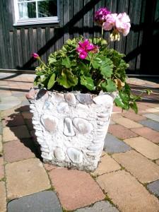 Blomkruka som farfar gjort