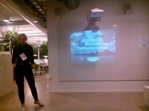 Anna Oscarsson Geek Girl Meetup öresund