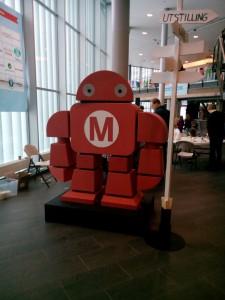Oslo Maker Faire maskot 2014