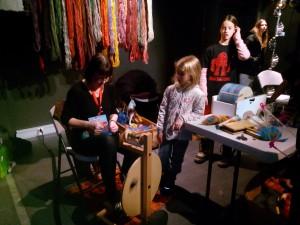 Spinner tråd balkong Oslo Maker Faire 2014