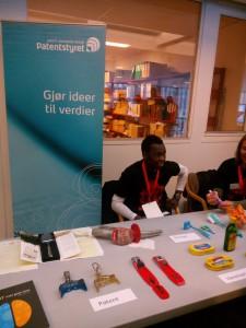 Norska patentverket balkong Oslo Maker Faire 2014