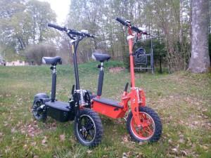 elcykel elscooter