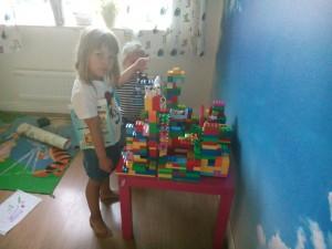 Elenis Legobygge