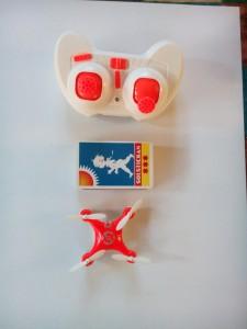 liten stabil quadrocopter